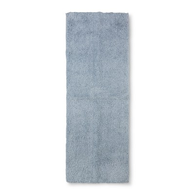 60 x22  Tufted Spa Bath Runner Sky Blue - Fieldcrest®