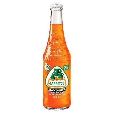 Jarritos Mandarin - 12.5 fl oz Glass Bottles