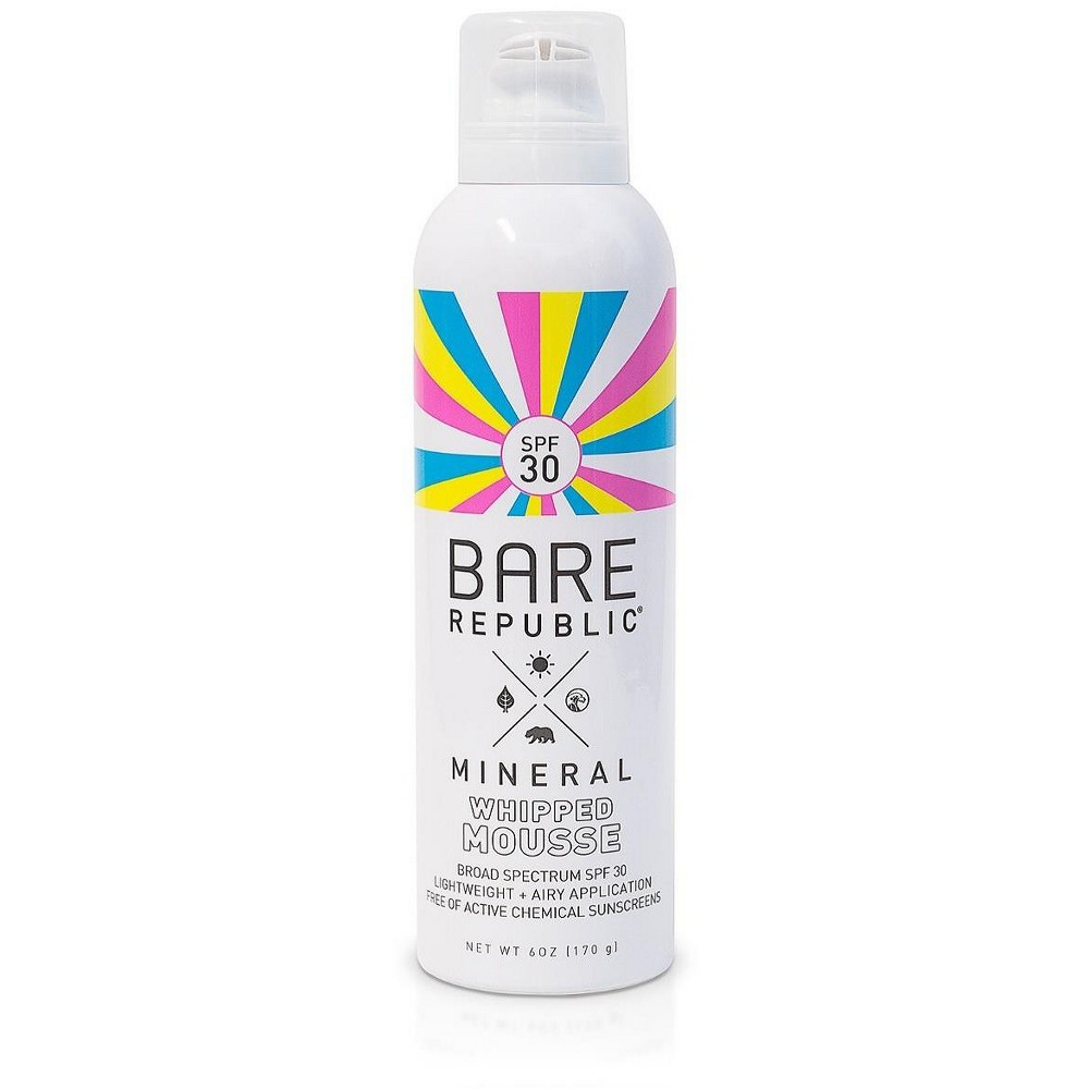 Image of Bare RepublicMineral Mousse Sunscreen - SPF 30 - 6oz