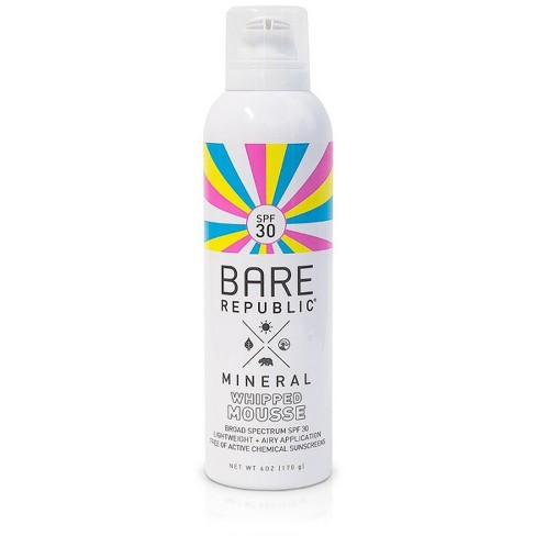 Bare RepublicMineral Mousse Sunscreen - SPF 30 - 6oz - image 1 of 4