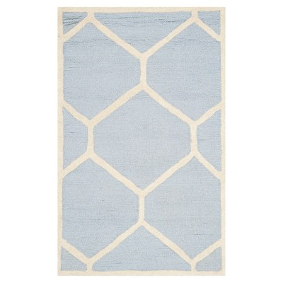 Hunter Accent Rug - Light Blue / Ivory ( 2' 6  X 4' )- Safavieh®