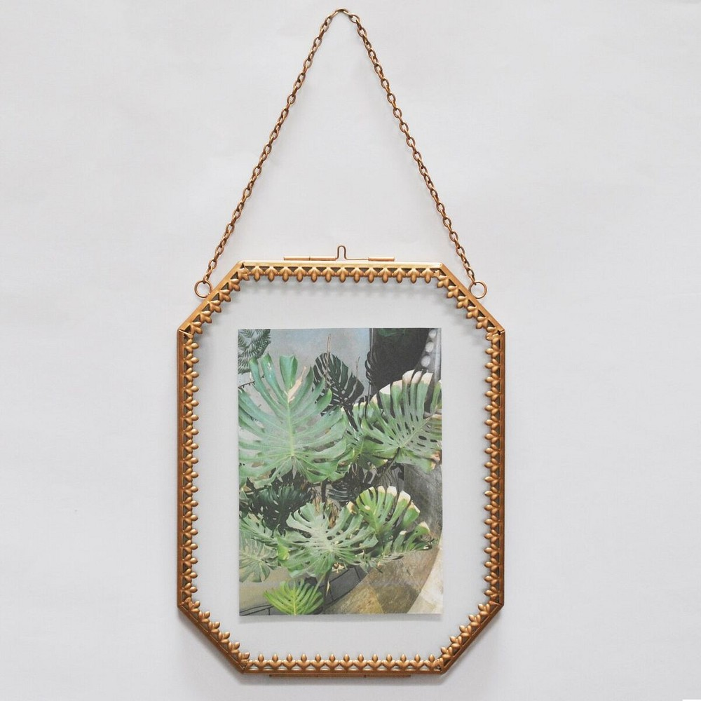 Ornate Detail Frame Brass - Opalhouse