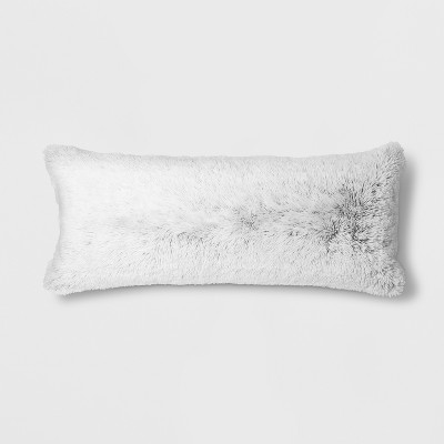 Textured Body Pillow Cover (20 x50 )Black - Room Essentials™
