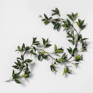 "72"" Faux Bay Leaf Garland - Hearth & Hand™ with Magnolia"