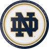 Notre Dame Fighting Irish Party Supplies Kit Disposable Plates Blue - image 3 of 4