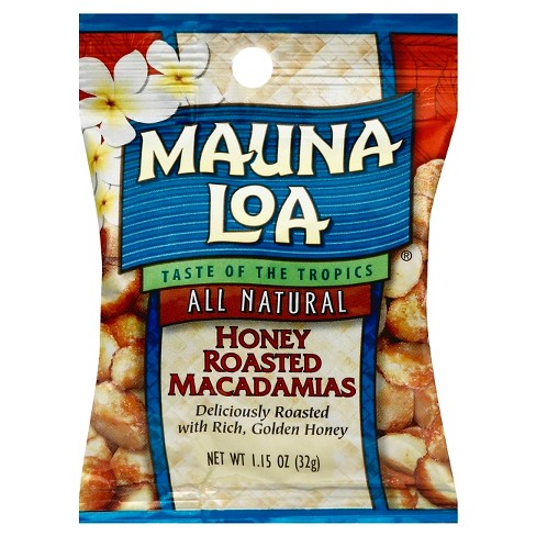 Mauna Loa Honey Roasted Macadamias - 1.15oz - image 1 of 1