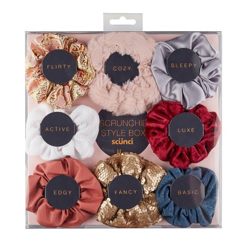 Scunci Scrunchie Style Box - 8pc - image 1 of 3