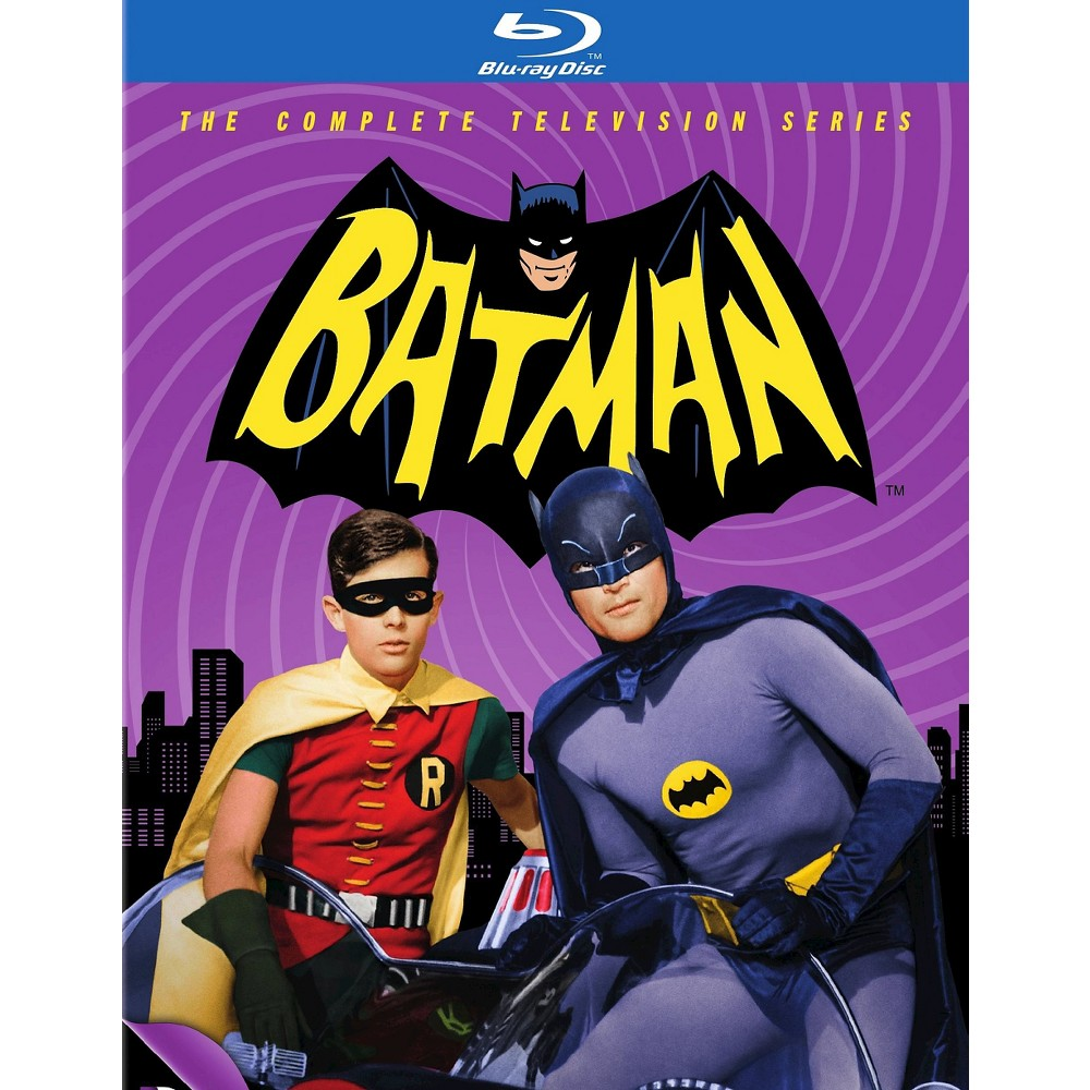 Batman: The Complete Television Series [13 Discs] [Blu-ray]