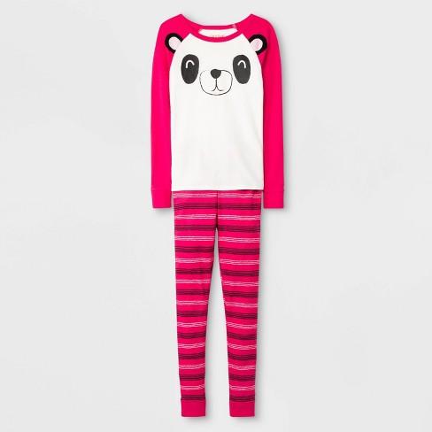 Girls' Pajama Set - Cat & Jack™ Pink - image 1 of 1