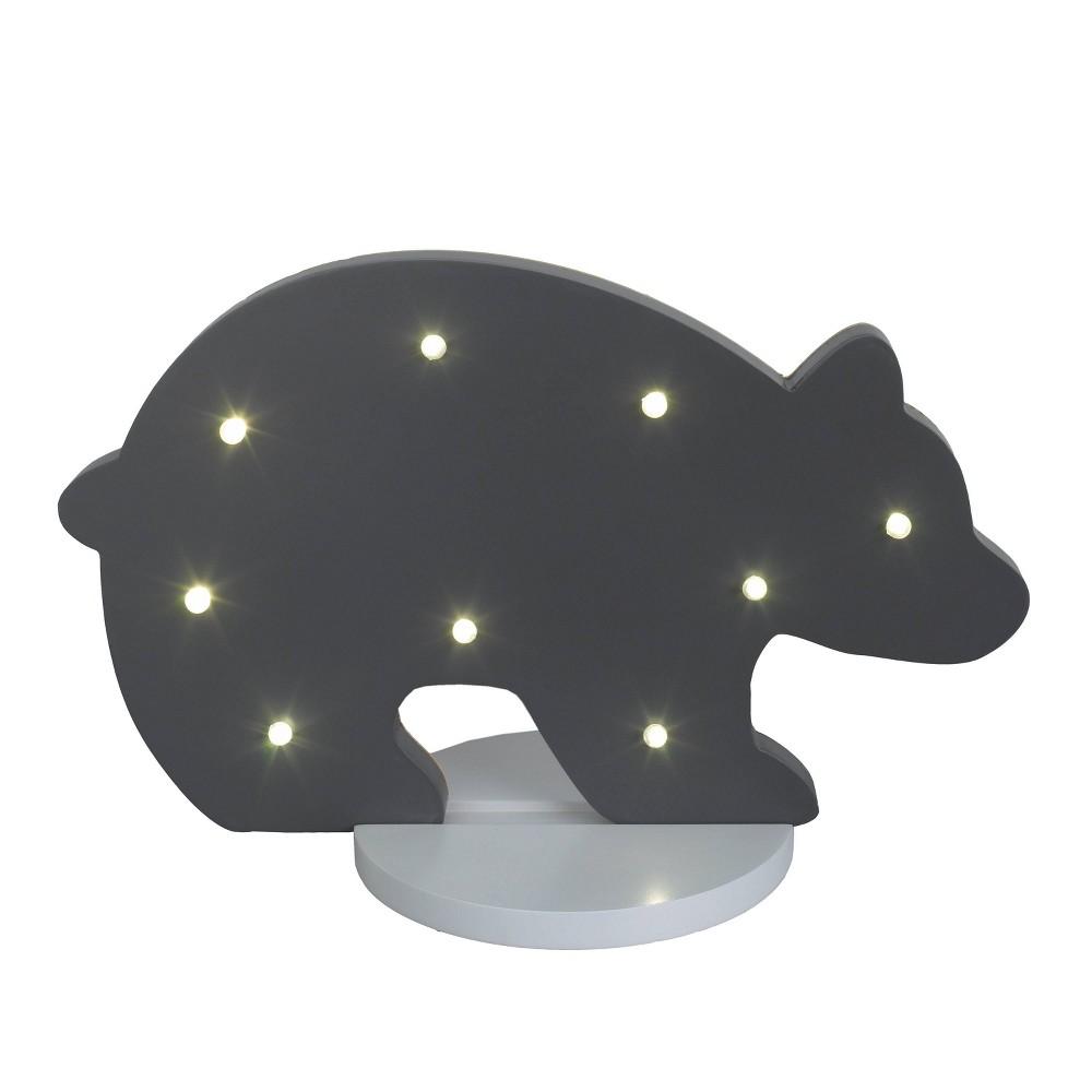 Image of Nojo Bear Nightlight Gray