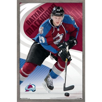 Trends International NHL Colorado Avalanche - Nathan MacKinnon 14 Framed Wall Poster Prints