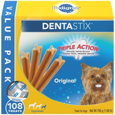 Dog Treats: Pedigree Dentastix Triple Action Small Breed