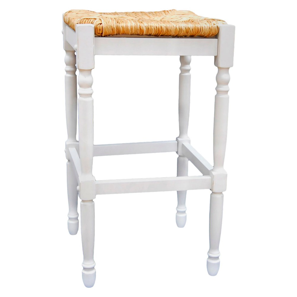 """Image of """"29.25"""""""" Turner Barstool Antique White - Carolina Chair and Table"""""""