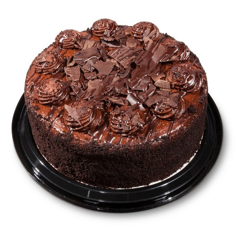 Malted Chocolate Dessert Cake - 42oz - Market Pantry™ - image 1 of 2