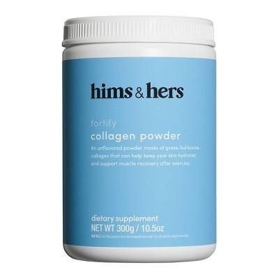 hims&hers Protein Unflavored Collagen Powder - 10.5oz
