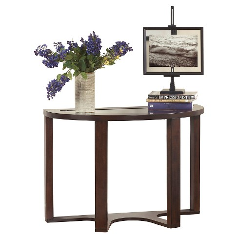 Marion Sofa Table Dark Brown - Signature Design by Ashley