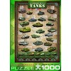 Eurographics Inc. History of Tanks 1000 Piece Jigsaw Puzzle - image 3 of 4