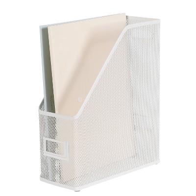 Mesh Magazine File White - Made By Design™