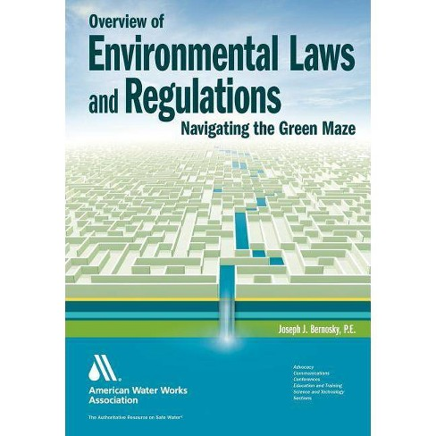 Overview of Environmental Laws and Regulations - by  Joseph J Bernosky (Paperback) - image 1 of 1