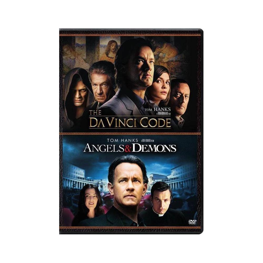 Angels Demons The Da Vinci Code Dvd 2017