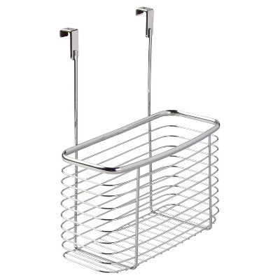 InterDesign Axis Over-the-Cabinet X7 Storage Basket - Chrome (14 )