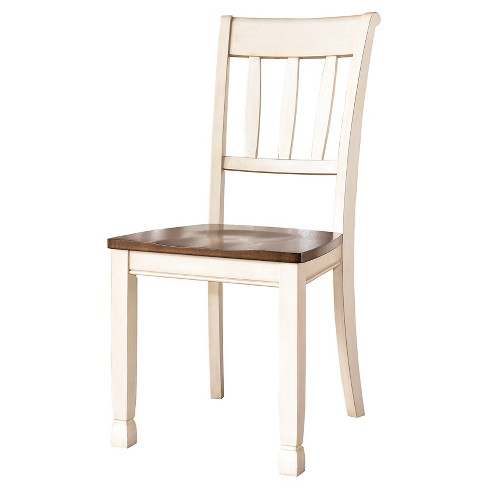 2pc Whitesburg Dining Room Side Chair Cottage White - Signature Design by Ashley - image 1 of 1