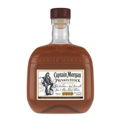 Captain Morgan Private Stock Rum - 750ml Bottle