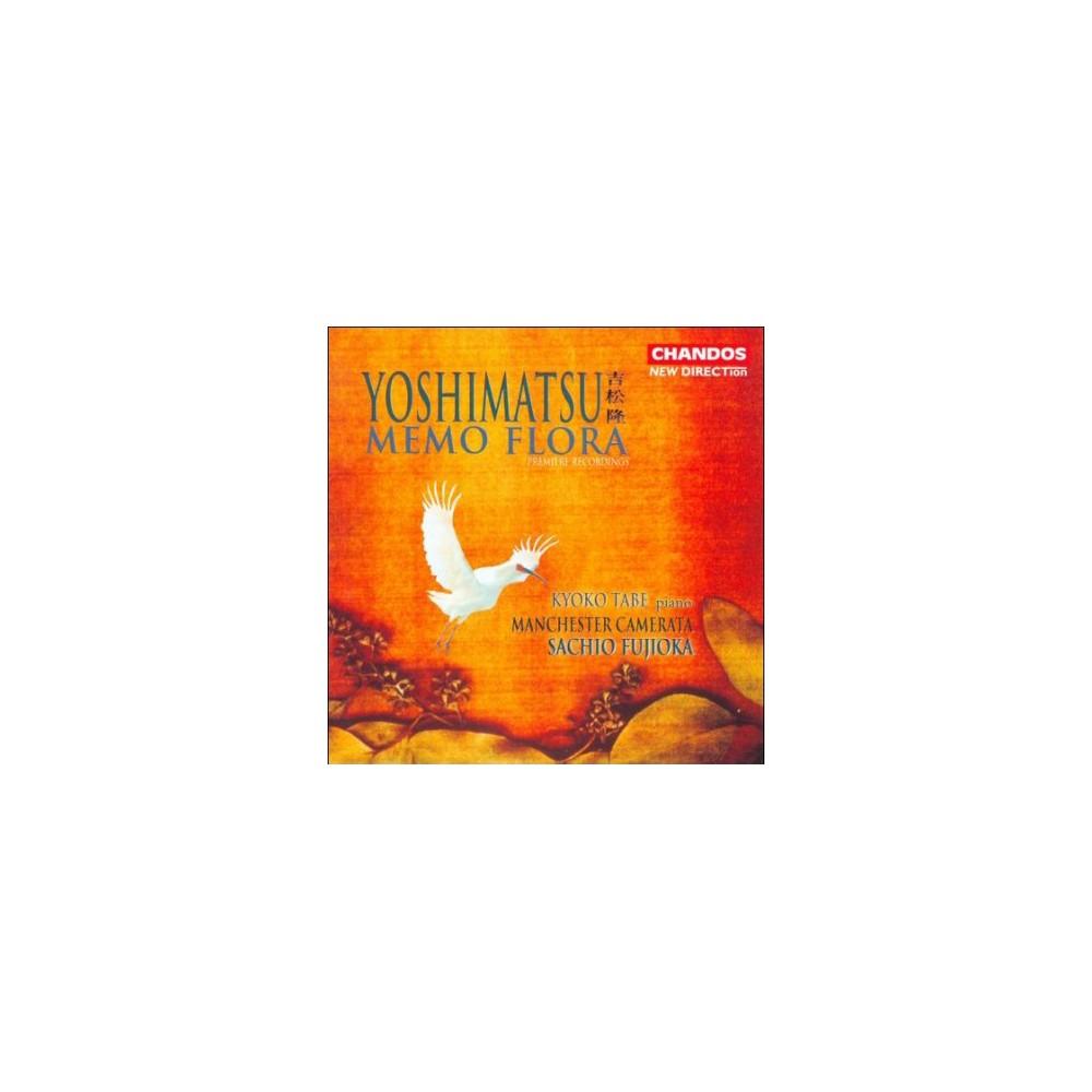 Kyoko Tabe / Manchest - Yoshimatsu:Memo Flora (CD)