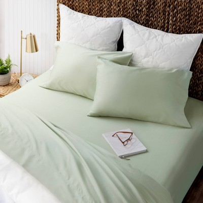 Solid Cotton Sheet Set - Martha Stewart