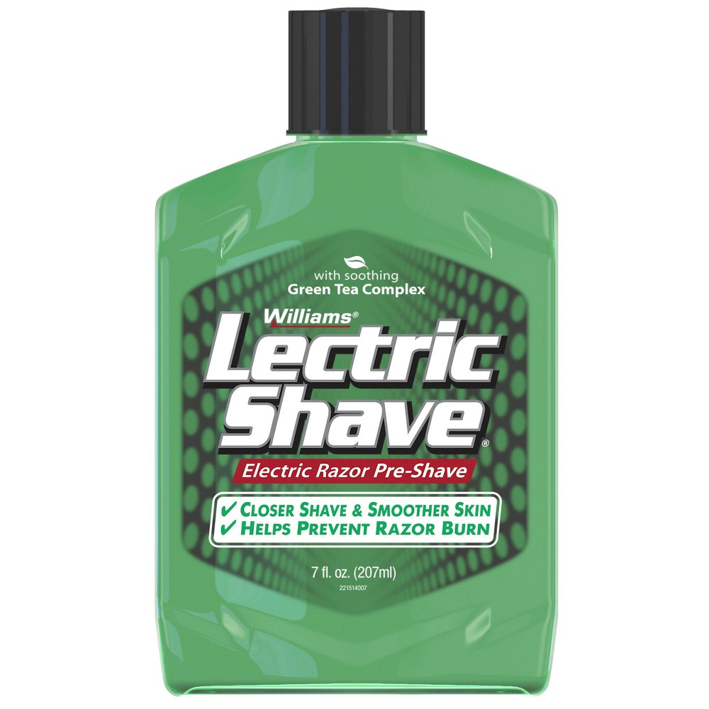 Image of Williams Lectric Shave Original with Green Tea Complex - 7oz