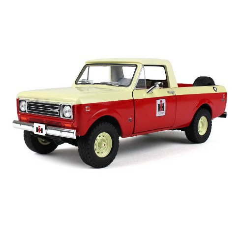 1979 International Scout Terra Pickup Truck Ih Dealer Red 1 25 Diecast Model By First Gear Target