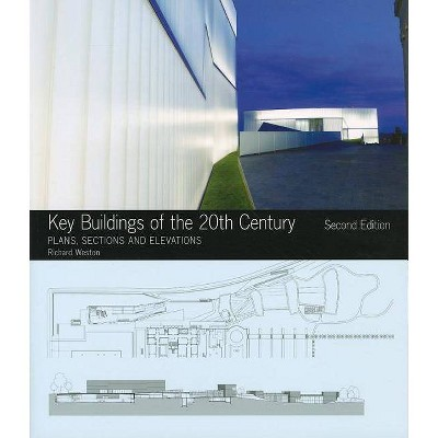 Key Buildings of the 20th Century - (Key Architecture) 2nd Edition by  Richard Weston (Mixed Media Product)