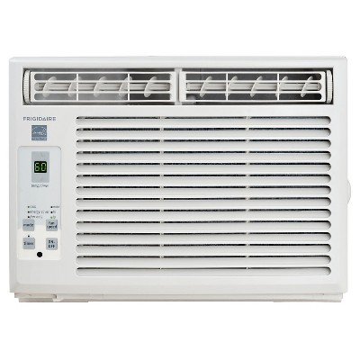 Frigidaire 5000 BTU 115V Window Mounted Mini Compact Air Conditioner with Full Function Remote White
