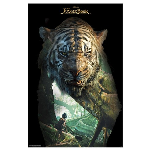 The Jungle Book- Shere Khan Overlay, Poster - image 1 of 2