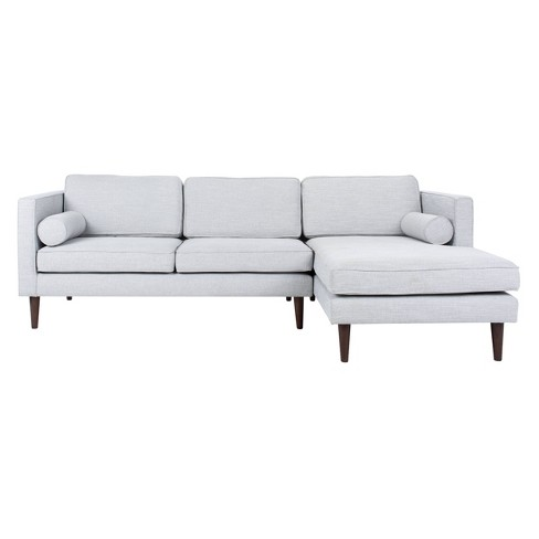 Dulce Mid-Century Chaise Sofa - Safavieh - image 1 of 4