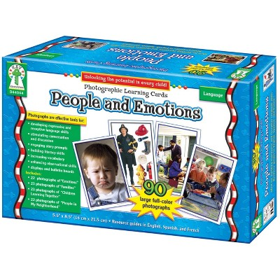 Carson Dellosa People and Emotions Photographic Learning Cards