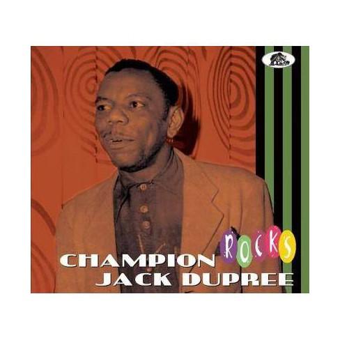 Champion Jack Dupree - Rocks (CD) - image 1 of 1