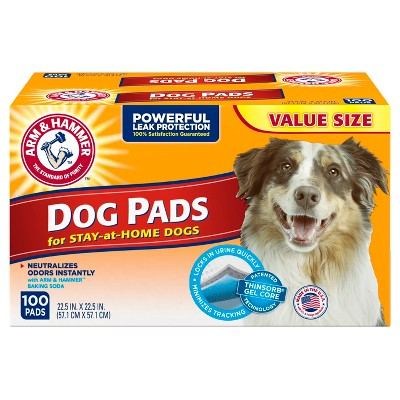 Arm & Hammer Absorbent Dog Pads and Puppy Training Pads - 100ct