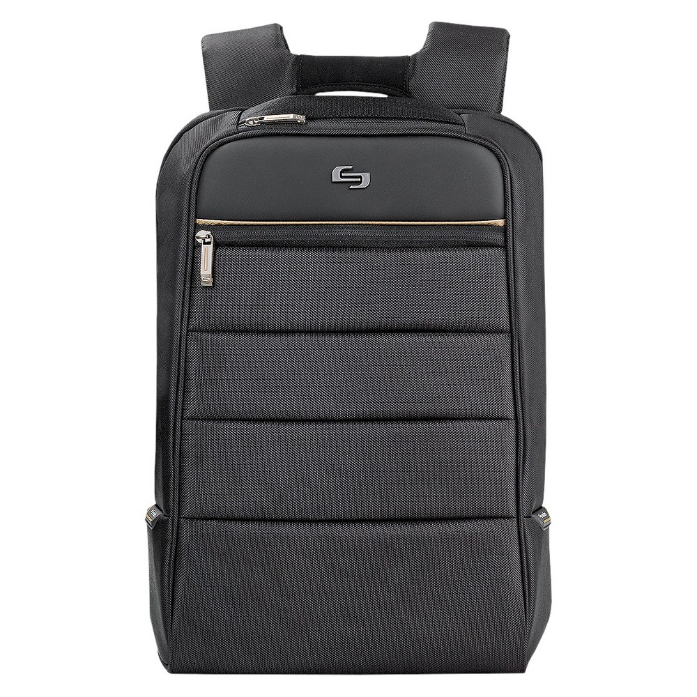 "Image of ""Solo 16.5"""" Pro Laptop Backpack - Black/Gold"""