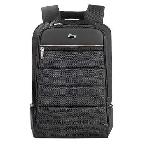 "Solo 16"" Pro Laptop Backpack - Black/Gold - image 1 of 6"