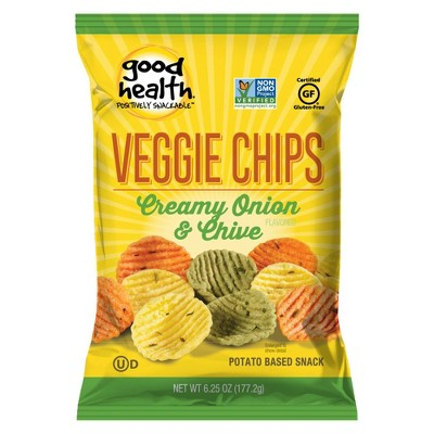 Good Health Sour Cream and Chive Veggie Chips  - 6.25oz