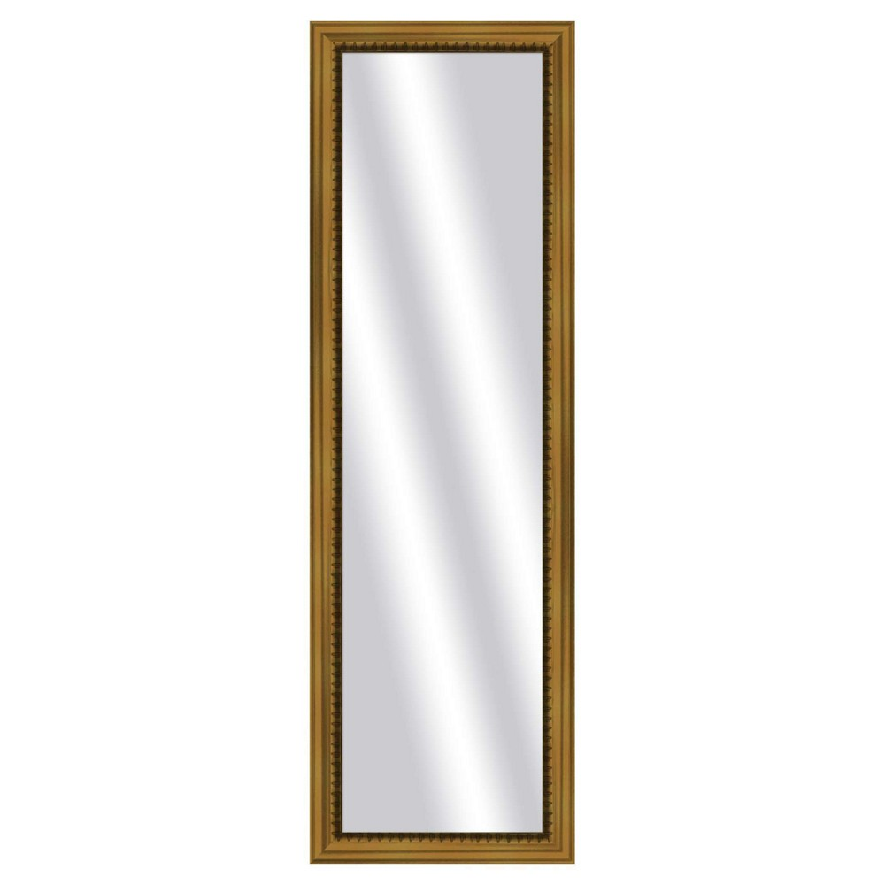 Image of Floor Mirror PTM Images Antique Gold