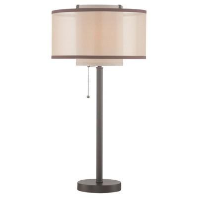 Fabrizio Table Lamp Dark Bronze (Includes CFL Light Bulb) - Lite Source