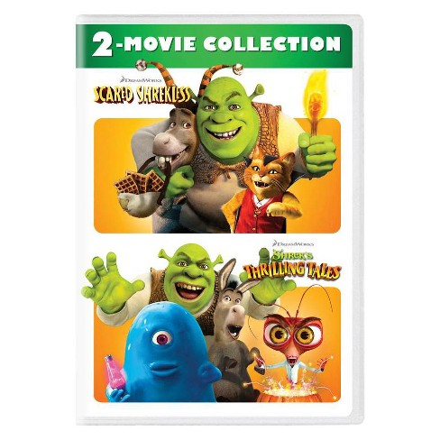 Scared Shrekless Shrek S Thrilling Tales 2 Movie Collection Dvd