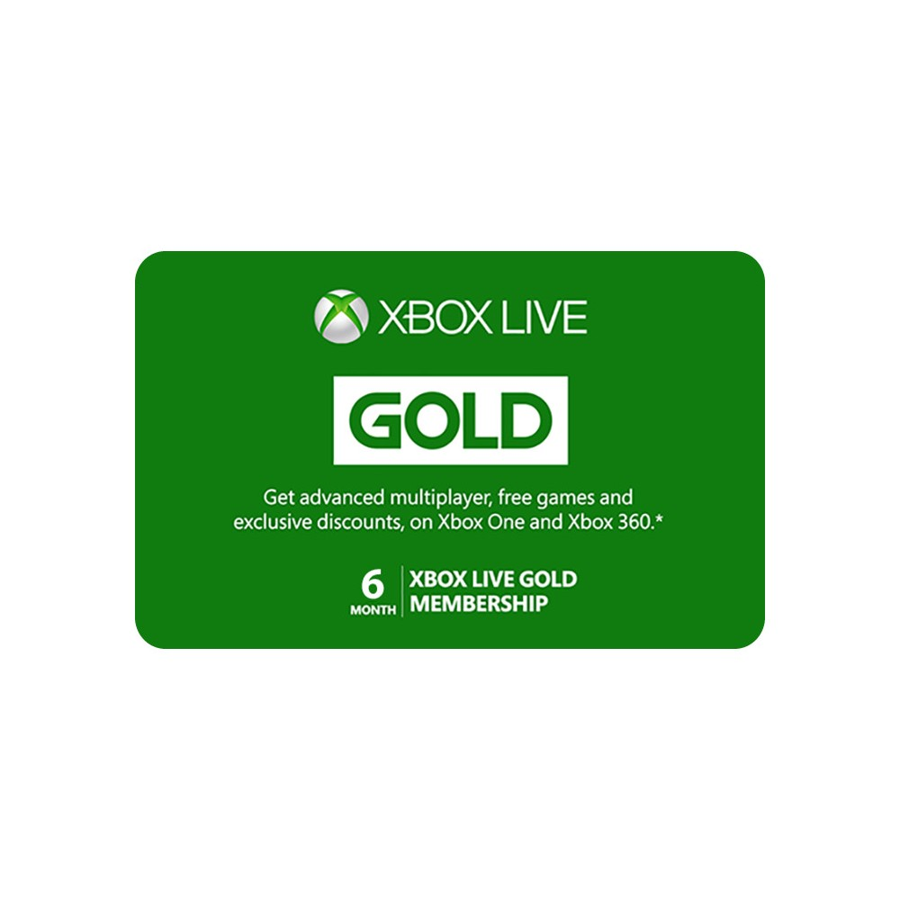 Xbox Live 6 Month Gold Membership (Digital) Give the gift of devices, games, and more to use at Microsoft Store online, on Windows, and on Xbox.* You'll receive an email with a digital code that your gift recipient can use to buy: - Popular games, apps, and add-ons - Blockbuster movies, TV shows, and music - Accessories and devices like Surface and Xbox With a Microsoft Gift Card, give the freedom to pick the gift they want. It can be used to buy devices, games, software, apps, movies, music, and more. There are no fees or expiration dates to worry about. This digital gift code is good for purchases at Microsoft Store online, on Windows, and on Xbox. It cannot be used for purchases at physical Microsoft Stores.