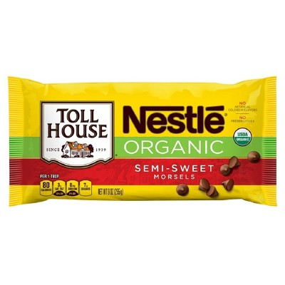 Baking Chips & Chocolate: Nestlé Toll House Organic Semi-Sweet Morsels