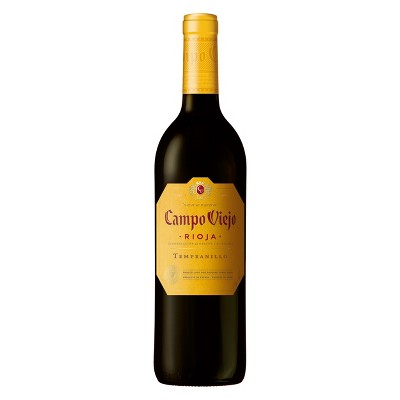 Campo Viejo Tempranillo Rioja Red Wine - 750ml Bottle