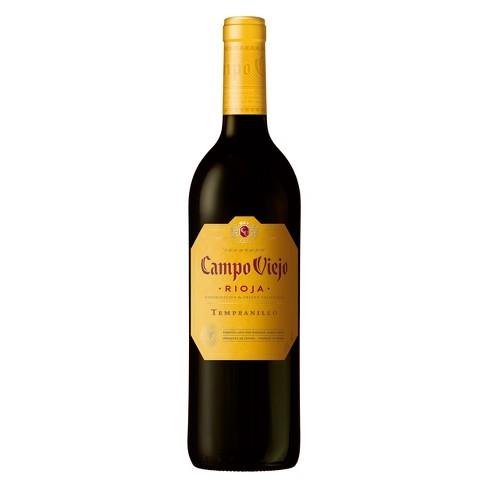 Campo Viejo Rioja Tempranillo Red Wine - 750ml Bottle - image 1 of 2