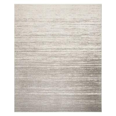 8'X10' Ombre Design Area Rug Light Gray/Gray - Safavieh