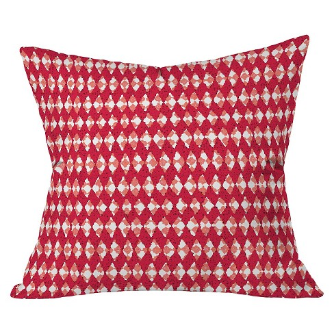 "Barn Red Holiday Throw Pillow (20""x20"") - Deny Designs® - image 1 of 2"